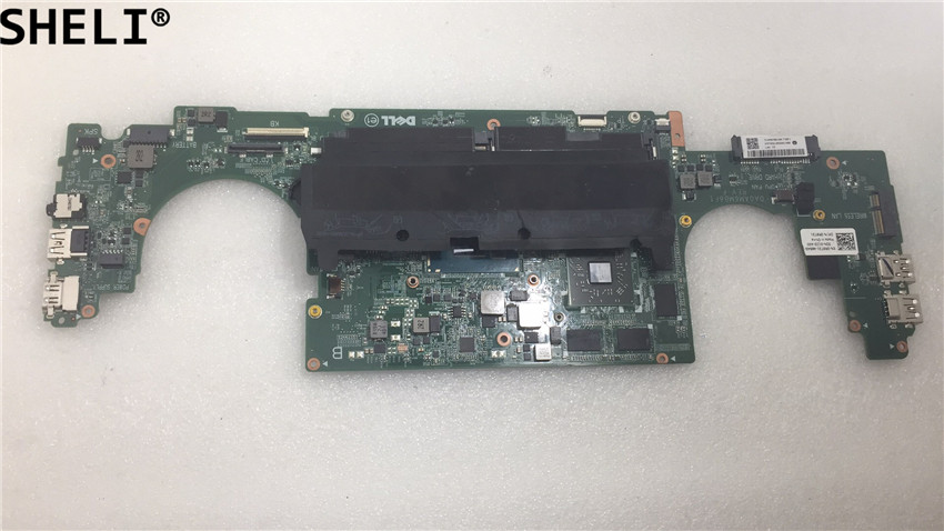 SHELI For Dell  7548 Laptop Motherboard  With  I7-5500U CPU CN-0N9YM9