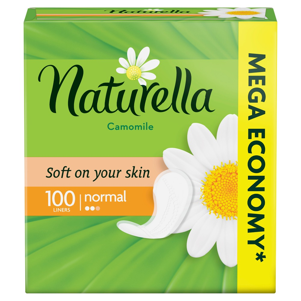 NATURELLA Women's sanitary pads for every day Camomile Normal 100pcs 100pcs lot ka2284