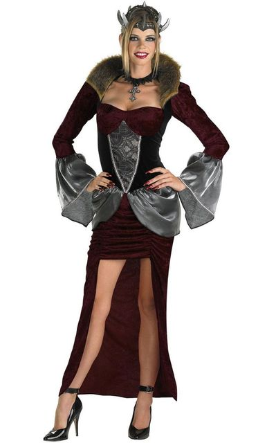 5s1230 sexy halloween costumes free shipping sassy medieval costume high quality classy queen deluxe adult