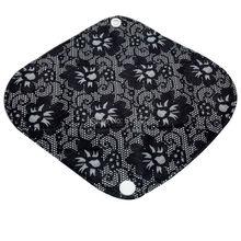 100 ชิ้น/ล็อตผ้าไม้ไผ่ Panty Liner Reusable สุขาภิบาล Pad