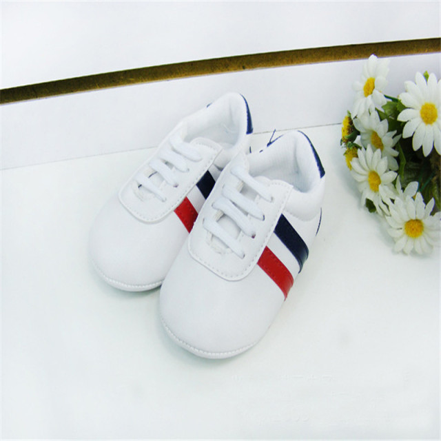 Bebe Baby Boys Girls Soft Sole Crib Shoes PU Leather Anti-slip Shoes Toddler Sneakers 0-12M Kids Shoes 1