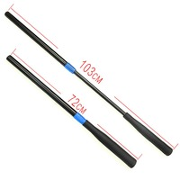 Scott Edward Snooker Cue Push On Extension Billiard Snooker Accessories Black Color Plastic Telescopic