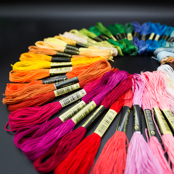 similar dmc threads color Embroidery Thread Yarn Floss You Can Choose Any Colors And Quantity Freely image