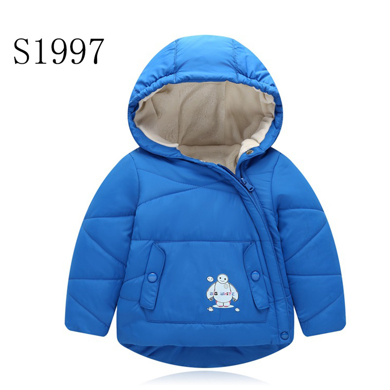 Comfortable Boys Coat Fashion New Brand Baby Girls Winter Feather  Kids Warm Outwear Cotton Hooded Parkas High Quality For 1-6 T 20pairs lot adult training replacement pads aed training model universal trainer