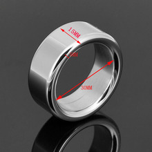 Penis ring Stahl CockRing Sexspielzeug für männer Hilfe Impotenz Vorzeitige Durchmesser: 30 MM Thicknss: 5mm F127