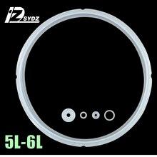 Электрическая скороварка уплотнительное кольцо для рисоварки аксессуары 5L-6L резиновое кольцо 24 см фартук резиновая прокладка уплотнение 24 см