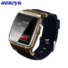 Heroyu SmartWatch 2.0MP Kamera Bluetooth Smart Zifferblatt Musik FM Video Recorder SIM TF Armbanduhr für Android vs k88h kw88 k9