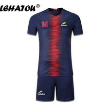 88a228a56ec Soccer Jersey Paris Men Football Sets Adults Soccer Shirt Top Quality Paris  Neymar Jr Cavani Mbappe Training Jersey Man Psg Kits