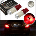 (2) 360-degree shine 144-SMD 7443 T20 7444NA 21/5W LED Bulbs For Turn Signal Lights, Tail Lights, Brake Lights, Brilliant Red