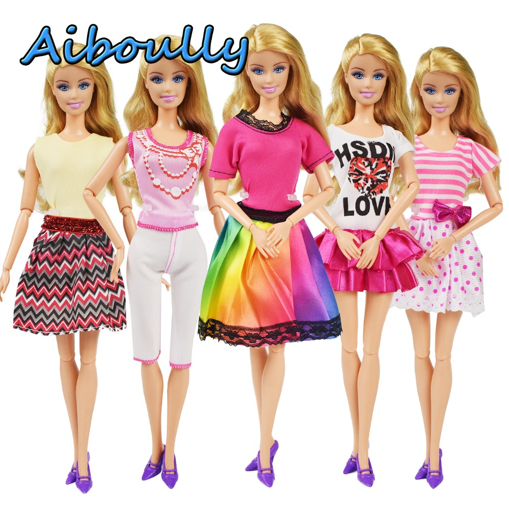 Mix Fashion dress doll costumes. (Not including dolls and other accessories)  ... e75f15ae7a3e