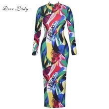 Deer Lady Summer Dresses Women 2019 Bodycon Dress