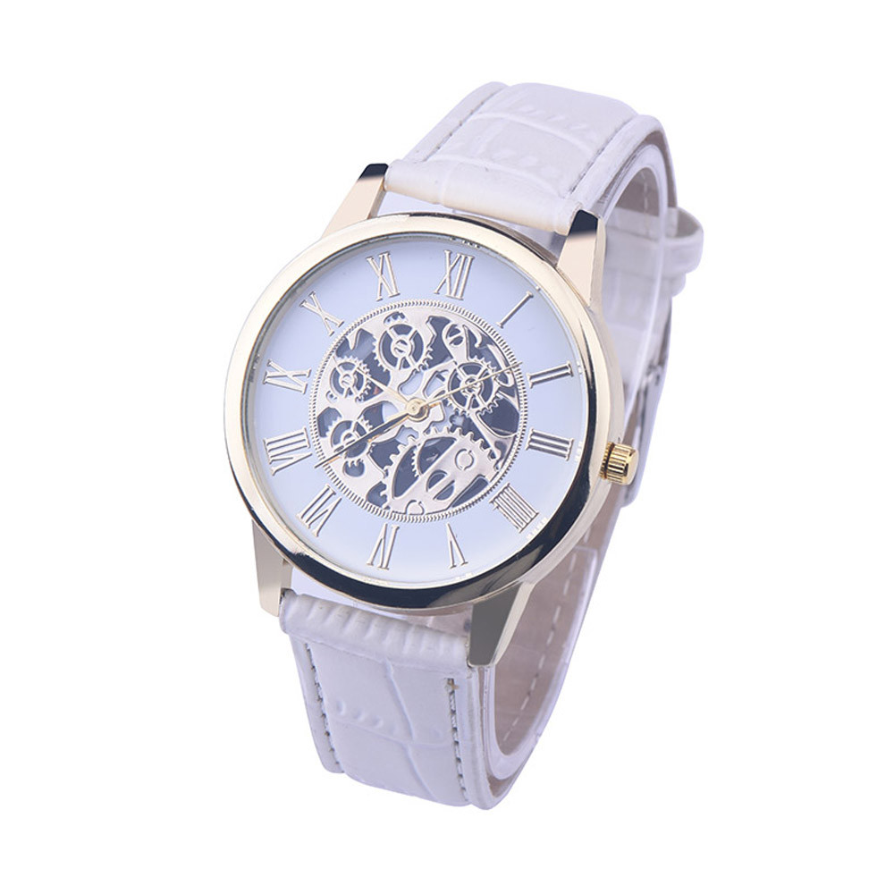 2016 Quartz Watch Men Watches Rome Digital Leather Band Analog Dial Quartz Wrist Watch Male Wrist Watch Relogio Masculino Sep29 hoska hd030b children quartz digital watch