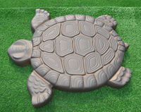Turtle Stepping Stone Mold Concrete Cement Mould ABS Tortoise For Garden Path Walking Path Maker Mold