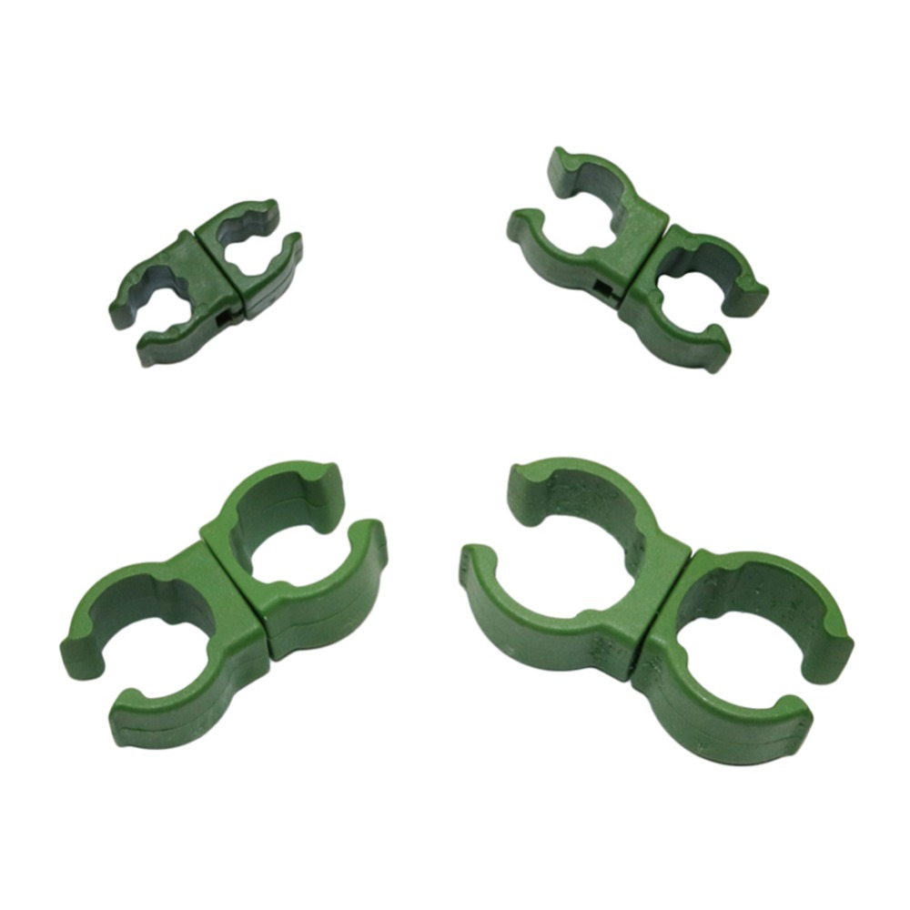 360 Degree Swivel Connectors Plant Grafting Stakes Connector Clip for 8 11 16 20mm Plant Stakes Plant growth Supplies 15 Pcs