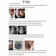 Nextvance Customized Necklaces Engrave Photo Name Necklace Stainless Steel Heart Pendant Chain Necklace Jewelry For Women ID Tag