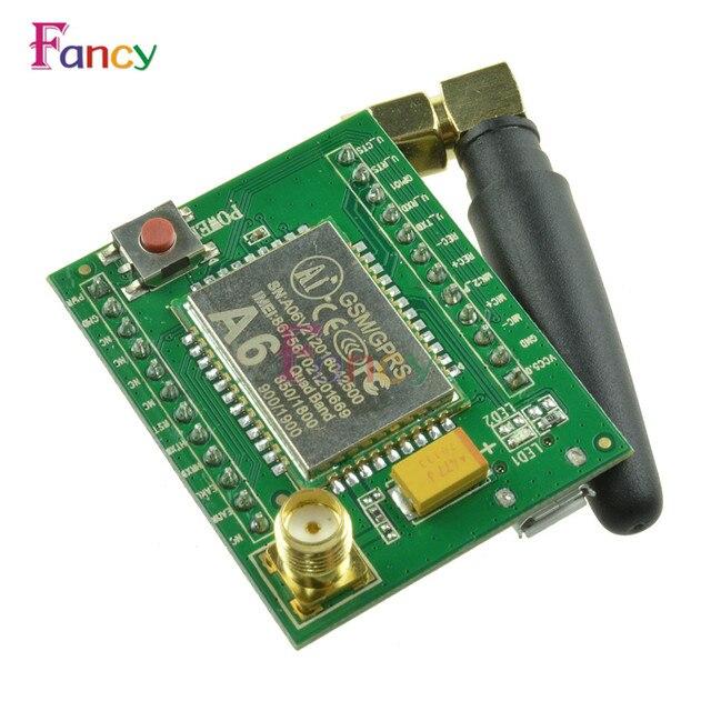 US $5 39 |1 set Smart Electronics Gsm a6 GPRS Module GSM Module A6 \ SMS \  Speech \ Board \ Wireless Data Trans Adapter Plate-in Instrument Parts &