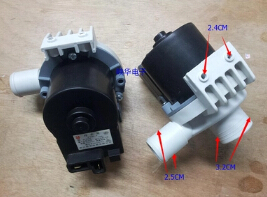W10133577A/W10316795/W10133576A washing machine drain pump 110V 14W цена