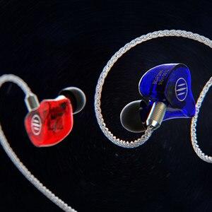 Image 3 - 2019 BGVP DM6 5BA dostosowana słuchawka hi fi słuchawka Monitor w uchu zbalansowana armatura słuchawka kabel MMCX wymienny kabel