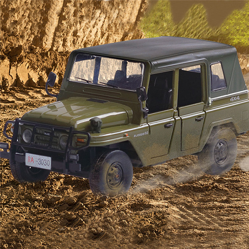 1:32 Military Alloy Diecast Cars Model Electronic Toy Cars Kids Birthday Gift  For Kid E1