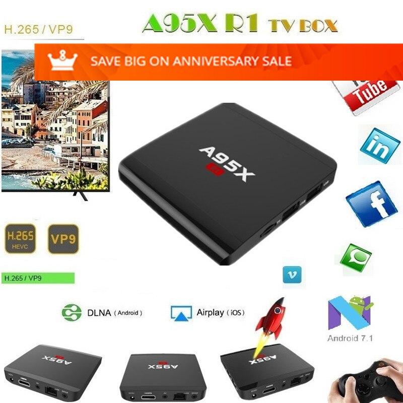 Προϊόν - A95X R1 TV Box Amlogic S905W Smart Android 7 1 Set