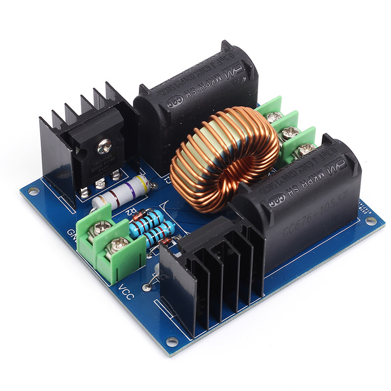 ZVS Induction Heating Driver Board High Voltage Generator Circuit PCB DC 12-30V 30-50KHz Induction Heating Board powder coating machine pcb board electrostatic spray gun circuit board high voltage generator circuit board