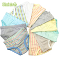 9 Pcs/Lot Kids Boys Girls Briefs Baby Underwear 100% Organic Cotton High Quality Shorts Panties For Children's Clothing 2-8 y