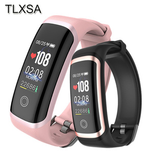 Image 1 - TLXSA Women Smart Band Fitness Tracker Blood Pressure Heart Rate Monitor Smart Wristband IP67 Waterproof For iOS Android Phone
