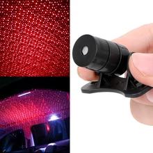 LEEPEE свет на крыше автомобиля Звездная проекция DJ музыка звук лампочка декоративный свет Прожектор автомобиля звезда огни для украшения интерьера