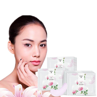 LENI 4 Types Skin Care Eye Patches Rose Vitamin Puffy Dark Circles Remove Eye Canthus wrinkles Drops Lifting Eye Mask 2Pcs/bag Creams