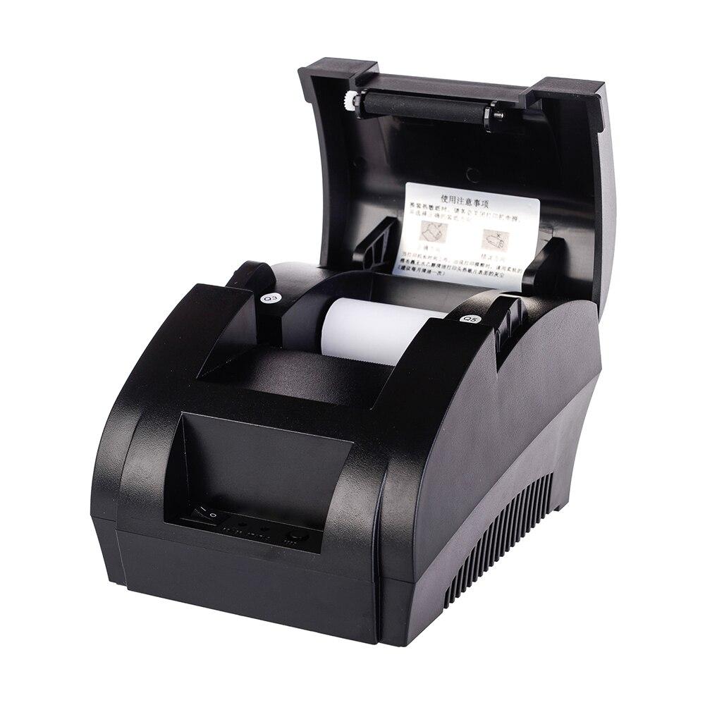 5890 karat 58mm USB Thermische Empfang Drucker Hohe Geschwindigkeit Druck Kompatibel ESC/POS-Druck Befehle Set UND RD-2013 barcode Scanner
