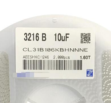 Free Shipping 2000pcs lot CL31B106KBHNNNE 10UF 106 50V X7R 10 1206 3216 New and original Fuse