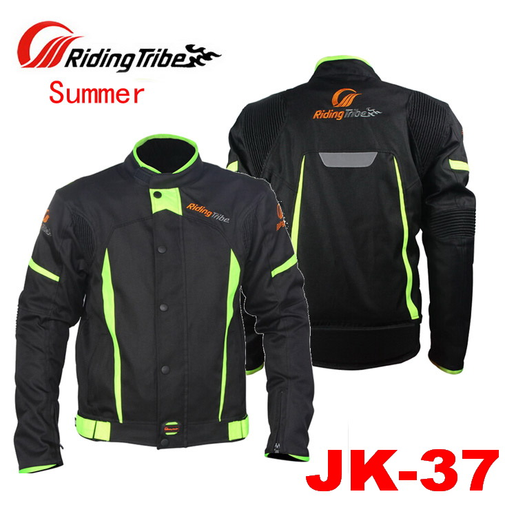 2017 Sunner New mesh Riding Tribe motorcycle jacket JK-37 cross-country motorbike jackets made of Oxford cloth size M to 4XL motorcycle tank bag helmet travel tool tail luggage waterproof multi riding tribe