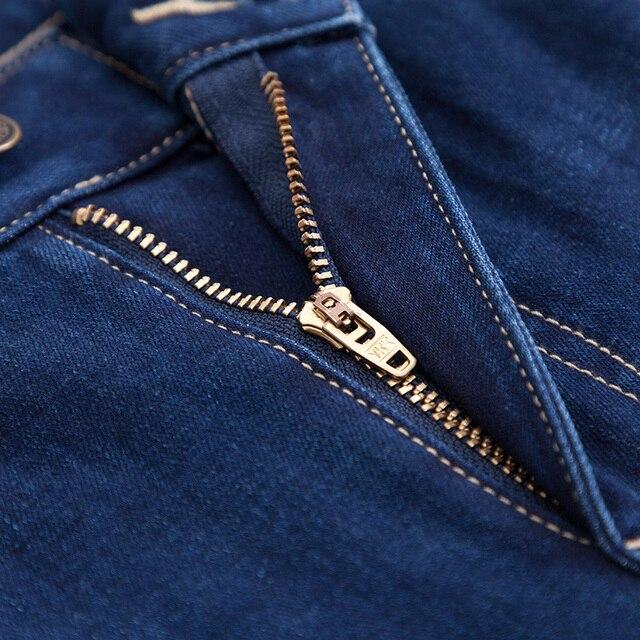 SEMIR 2019 nouveaux hommes marque jean mode hommes noir vente chaude mâle pantalon décontracté coupe étroite droite haute Stretch pieds maigre jean