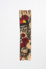 Only 1 Pcs W59 Skull With Wing Temporary Fake Tattoo Art Sleeve Cool Beaut Sexy Tattoo Sleeve