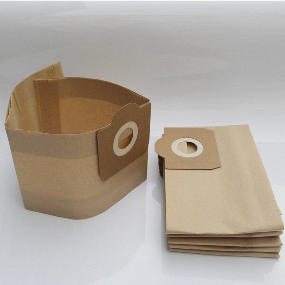 15 PCS Dust bags for vacuum cleaner Karcher WD3 WD3200 WD3300 WD3.500P MV3 SE4001 SE4002 6.959-130 Karcher Cleaner dust bags