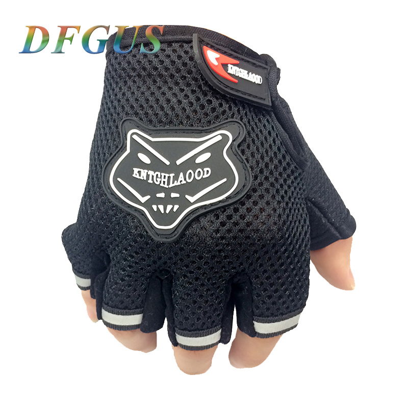 Hot Sports Gym Gloves Men Fitness Exercise Anti Slip Weight Lifting Gloves Half Finger Body Workout