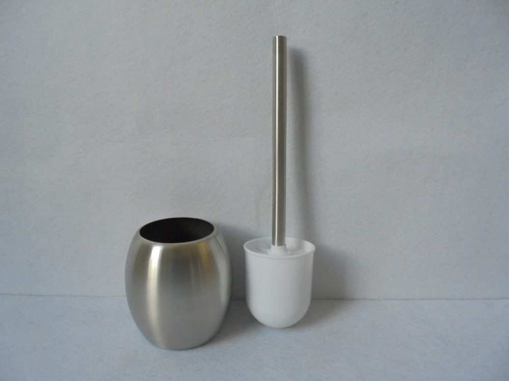 1PC New Arrival joker durable Holder Toilet Accessory Parts 304 Stainless Steel Bathroom Cleaning Toilet Brush J1471