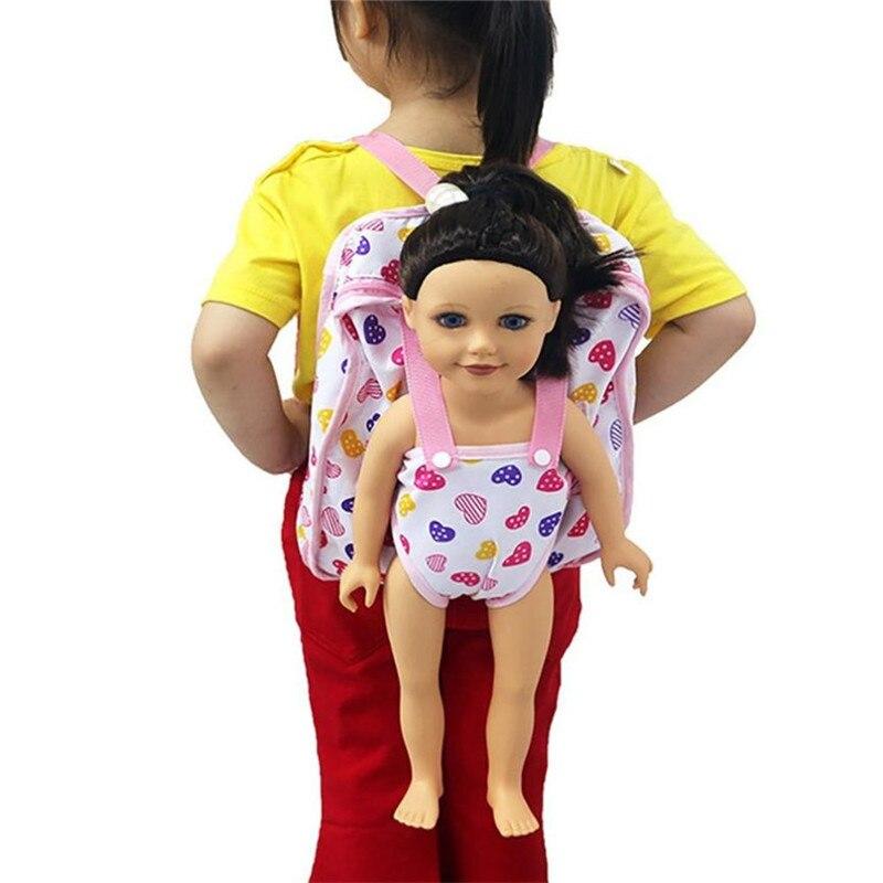 Children Kids Backpack Amp Doll Carrier Sleeping Bag For 18