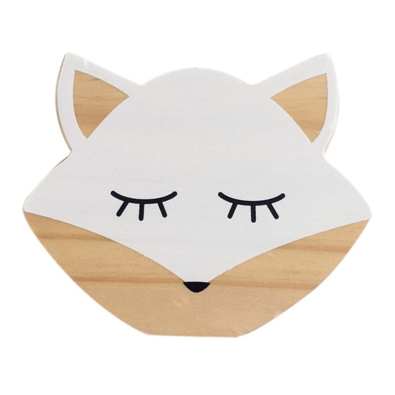 Wood Decoration for Baby Room Creative Solid Wood Animal Decoration For Girl Boy Room For Baby Room Nordic Style Baby Room Decor
