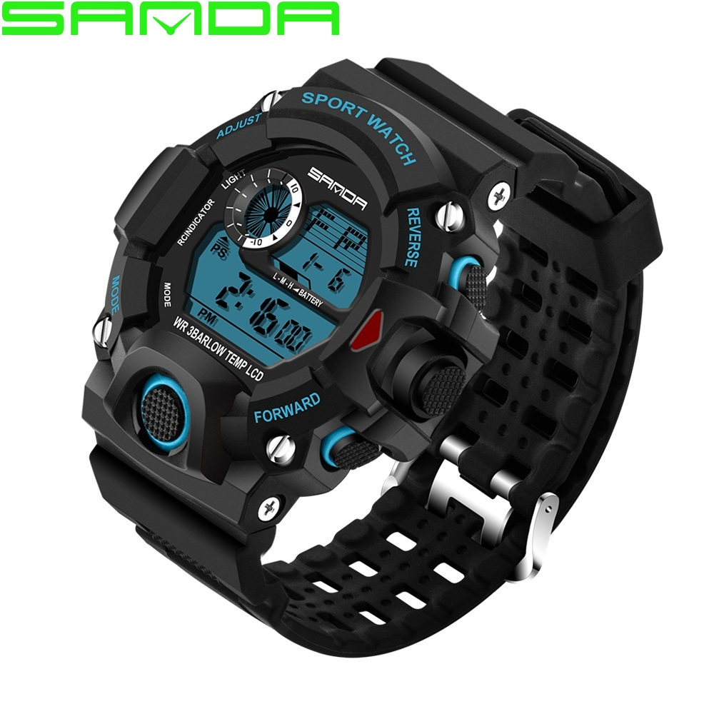 western watches men promotion shop for promotional western watches sports watches for men waterproof s shock military watch man brand luxury electronic digital clock male watch relogio masculino