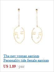 49f764882238 Dama de la moda temperamento minimalista geométrica irregular perla  pendientes de clip de oreja pendientes de 55 cUSD 1.99 pair ...