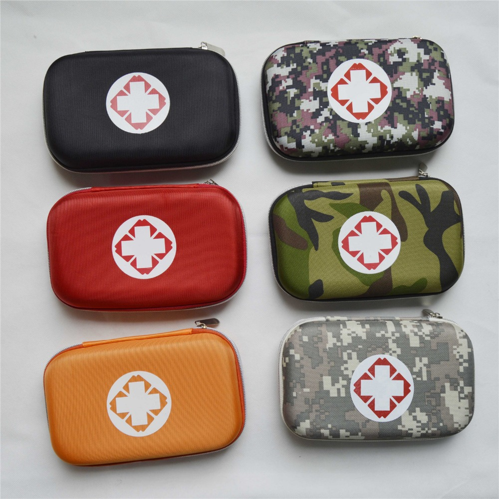 Empty box for First Aid Kits Pack Emergency Treatment 6 colors Camo Red first aid for horse and rider emergency care for the stable and trail