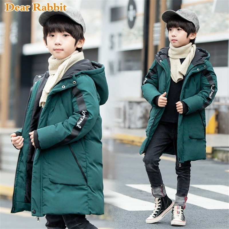 2019 new children Parkas 3-14T clothes winter kids outerwear casual warm hooded Cotton-padded jacket for boys coats clothing2019 new children Parkas 3-14T clothes winter kids outerwear casual warm hooded Cotton-padded jacket for boys coats clothing