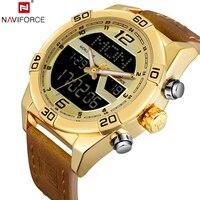Fashion Men S Watches NAVIFORCE Top Luxury Brand Military Sport Watches Men S Quartz Clock Waterproof