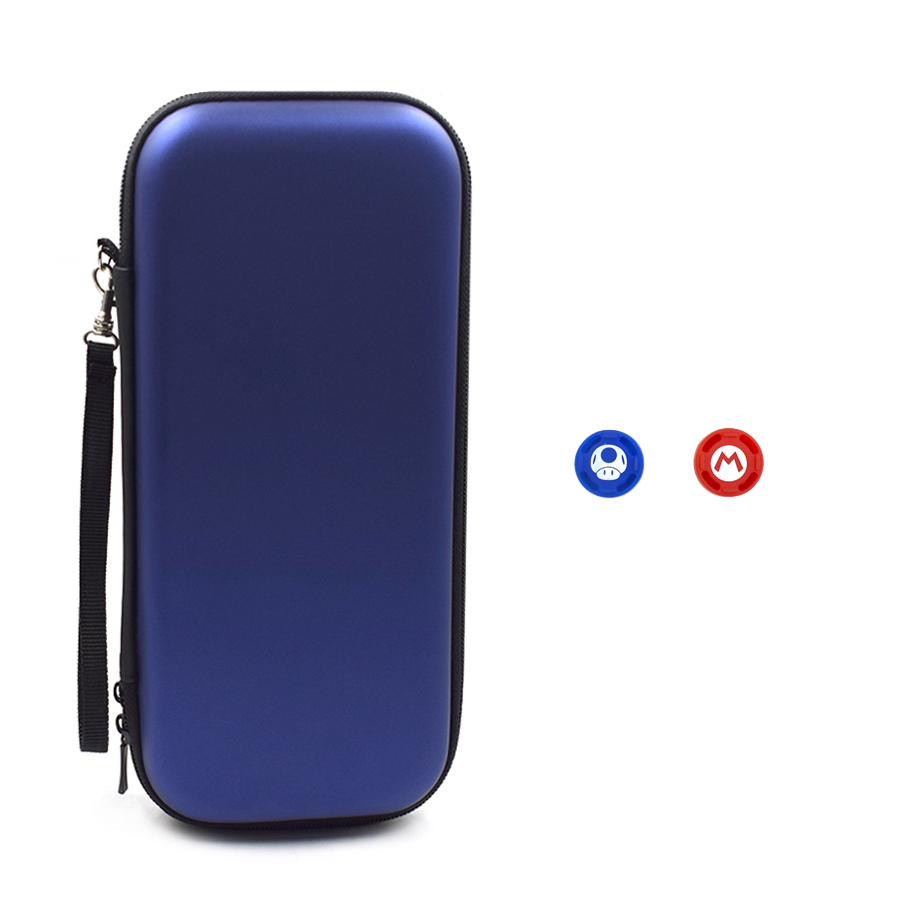 Nitend Switch Storage Case, Nintendos Nintend Switch Portable Carry  Bag with Silicone Thumbstick Grip Caps for Nintendo Switch  4