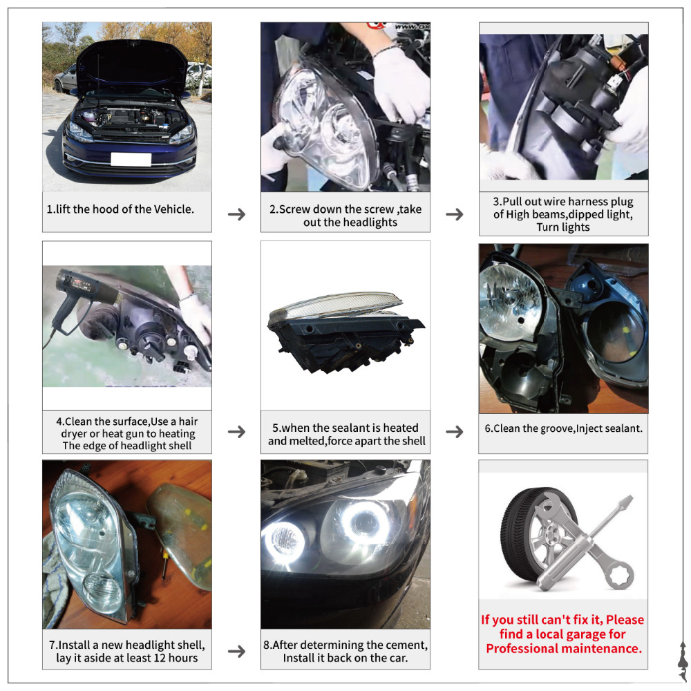 Replaces Car Headlight Lens Front Head Lamp Cover For BMW E60 M5 E61 5  Series 525i 530i 528i 535i 540i 550i 545i N001-in Car Light Assembly from  Automobiles ...
