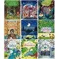 Открытая Внутренняя серия  английские 3d-книжки с откидной крышкой  детские книги для раннего обучения  книги для чтения