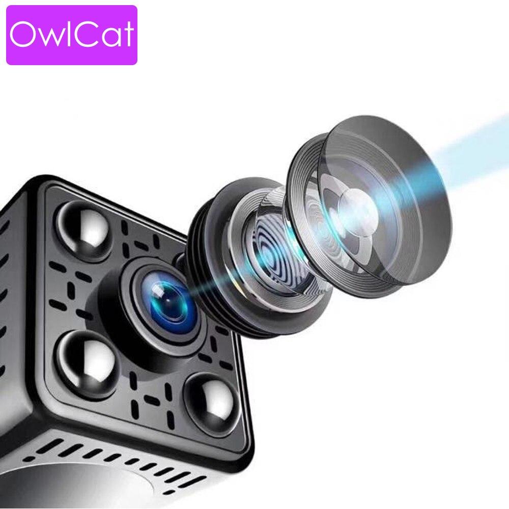 Super MINI HD Sans Fil Caméra 1080 P IP WIFI Caméra APP Vue À Distance de Détection de Mouvement HD Nuit vision Li- batterie TF Fente Pour Carte