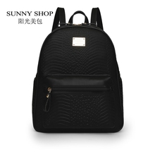 Sunny shop corea preppy mochila mujeres de la moda de tela impermeable mochila mochilas escolares para adolescentes mochila casual