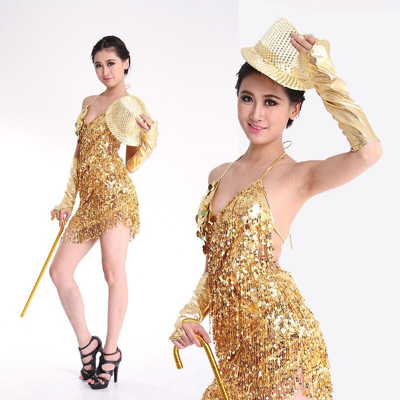Elegante vestido de baile latino atractivo de las mujeres de - Novedad